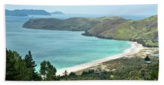 Beaches Of Coromandel, New Zealand Bath Towel