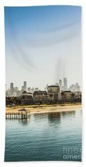Oceanfront Photographs Bath Towels