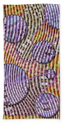 Bead Spumps Bath Towel