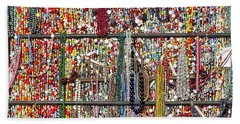 Beads In A Window Hand Towel