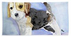 Beagle Pup Bath Towel