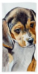 Beagle Puppy Bath Towel