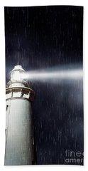 Beaming Lighthouse Bath Towel