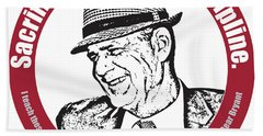 Bear Bryant Quote Hand Towel