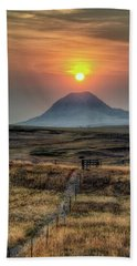 Bear Butte Smoke Hand Towel