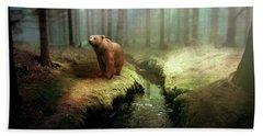 Bear Mountain Fantasy Hand Towel