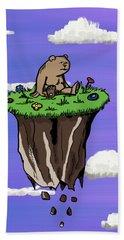 Bear Rock Bath Towel