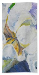 Bearded Iris Hand Towel