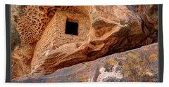 Bears Ears National Monument - Anasazi Ruin Bath Towel by Gary Whitton