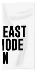 Beast Mode On - Gym Quotes 1 - Minimalist Print - Typography - Quote Poster Hand Towel