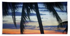 Beautiful Boracay Sunset Bath Towel