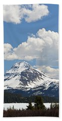 Beautiful Bow Lake Hand Towel