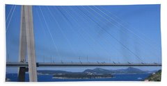 Beautiful Bridge In Dubrovnick Bath Towel