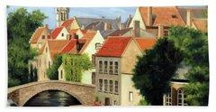 Beautiful Bruges Hand Towel