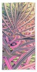 Bath Towel featuring the digital art Beautiful Cage by Matt Lindley