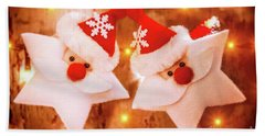 Beautiful Christmas Decoration Bath Towel