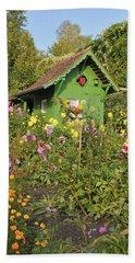 Beautiful Colorful Flower Garden Hand Towel
