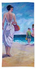 Beautiful Day At The Beach Hand Towel