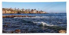 Beautiful Day In La Jolla Hand Towel by Glenn McCarthy Art and Photography