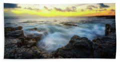 Bath Towel featuring the photograph Beautiful Ending by Ryan Manuel