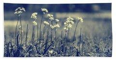 Beautiful Gentle Wildflowers Bath Towel