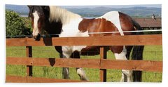 Beautiful Horse In Kinneswood Hand Towel