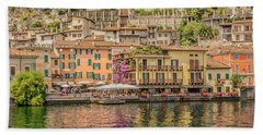 Beautiful Italy Hand Towel by Roy McPeak