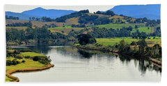 Beautiful Manning River 06663. Hand Towel by Kevin Chippindall