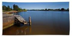 Hand Towel featuring the photograph Beautiful Manning River 666 by Kevin Chippindall
