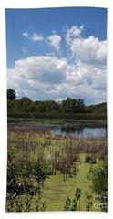 Beautiful Marsh View Hand Towel