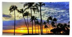 Beautiful Maui Hawaii Sunset Bath Towel