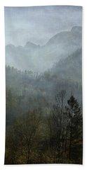 Beautiful Mist Hand Towel by AugenWerk Susann Serfezi