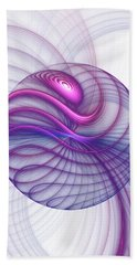 Beautiful Movements Fractal Art Hand Towel