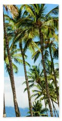 Bath Towel featuring the photograph Beautiful Palms Of Maui 16 by Micah May