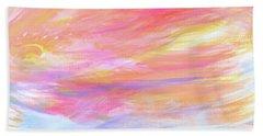 Beautiful Possibilities - Contemporary Art Hand Towel