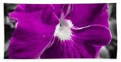 Beautiful Purple Hand Towel