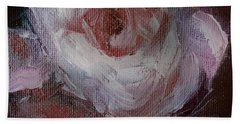 Beautiful Rose Beautiful Story Hand Towel by Michele Carter