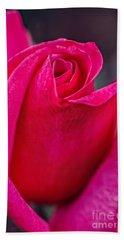 Beautiful Rose Bud Bath Towel