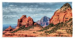 Bath Towel featuring the photograph Beautiful Sedona Az by Tom Prendergast