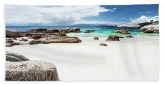 Beautiful South African Beach Landscape Hand Towel