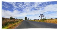 Hand Towel featuring the photograph Beautiful Taree 666 by Kevin Chippindall
