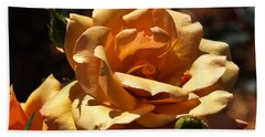 Beautiful Yellow Rose Belle Epoque Bath Towel