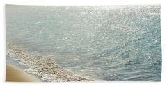 Hand Towel featuring the photograph Beauty And The Beach by Sharon Mau
