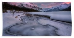 Beauty Creek, Jasper National Park Bath Towel