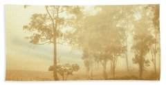 Beauty In A Forest Fog Bath Towel