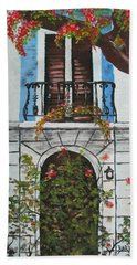 Beauty In Old San Juan Hand Towel
