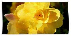 Beauty In Yellow Bath Towel