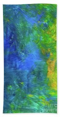 Beauty Hand Towel by Karen Nicholson