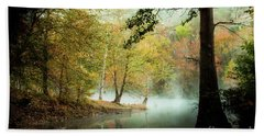 Beavers Bend Creek In Fall Hand Towel