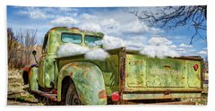 Bed Full Of Clouds Bath Towel by Robert FERD Frank